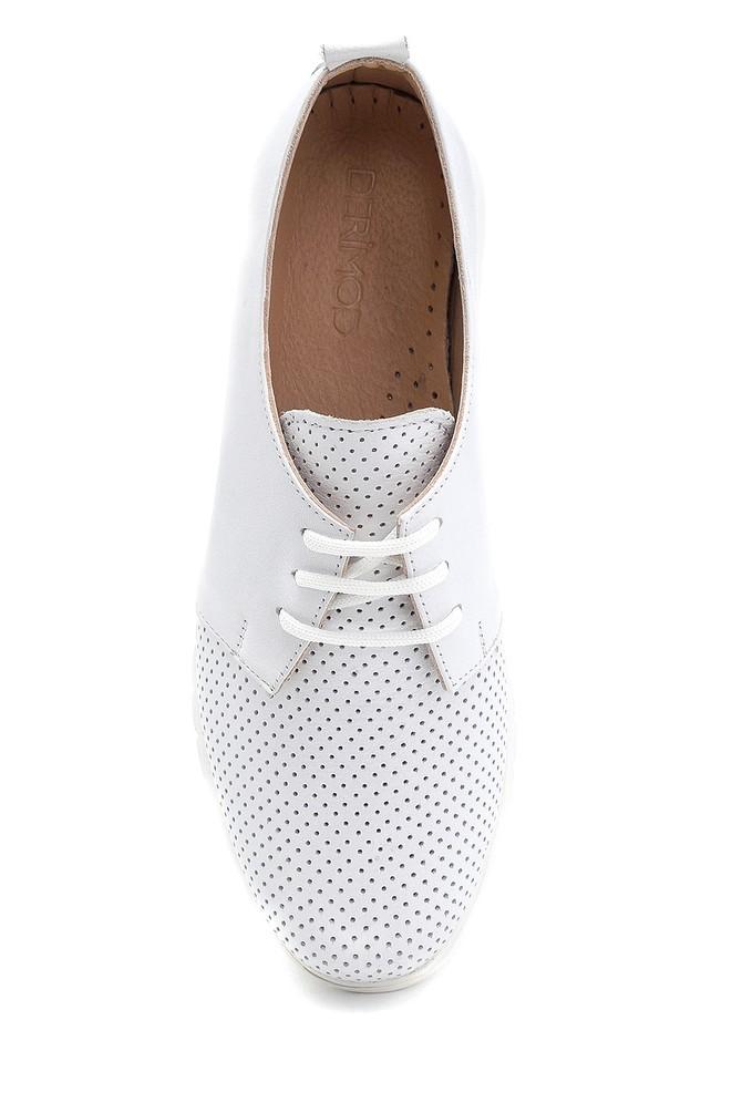 5638276120 Kadın Deri Ayakkabı