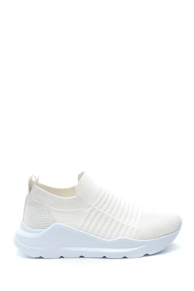 Beyaz Kadın Çorap Sneaker 5638291738