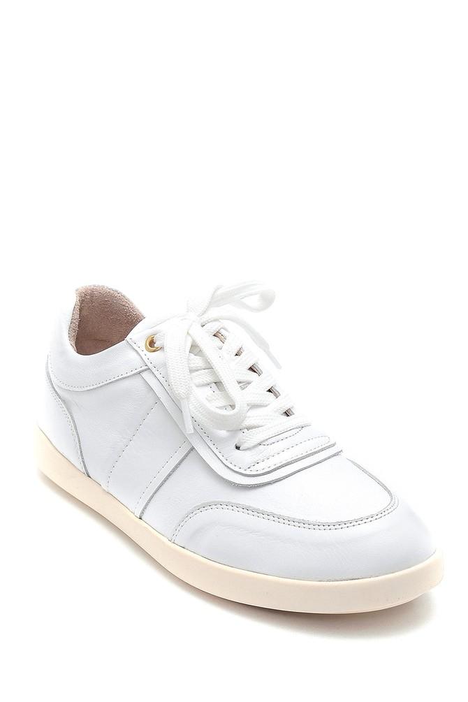 5638291824 Kadın Deri Sneaker