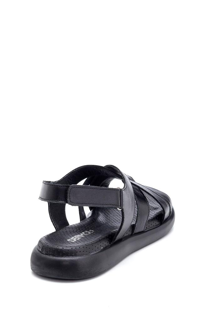 5638268196 Kadın Deri Bantlı Sandalet