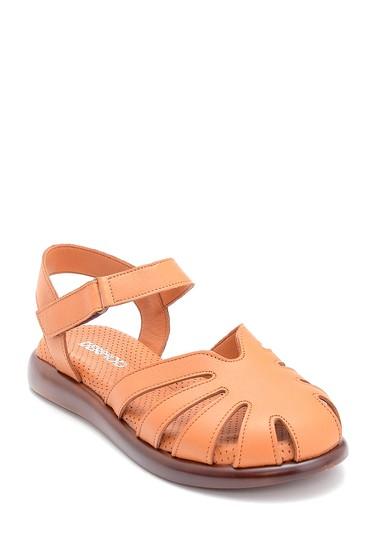 Taba Kadın Deri Bantlı Sandalet 5638268309
