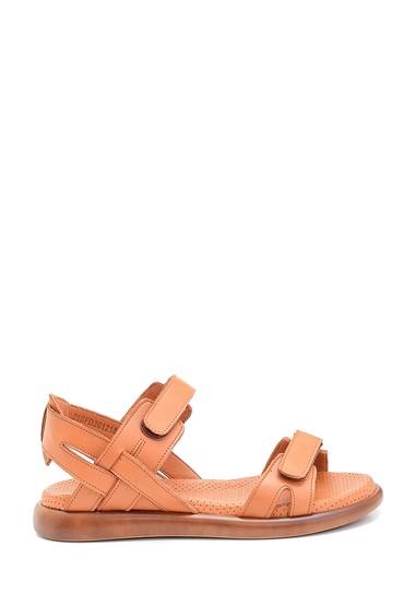 Taba Kadın Deri Bantlı Sandalet 5638268385
