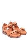 5638268385 Kadın Deri Bantlı Sandalet