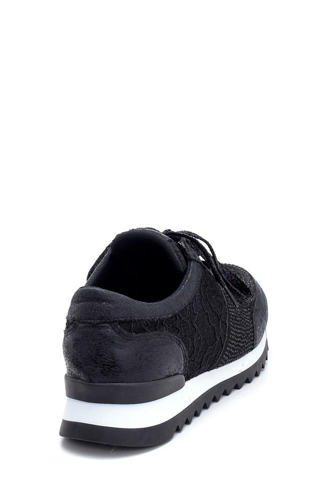 5638294371 Kadın Dantel Detaylı Sneaker