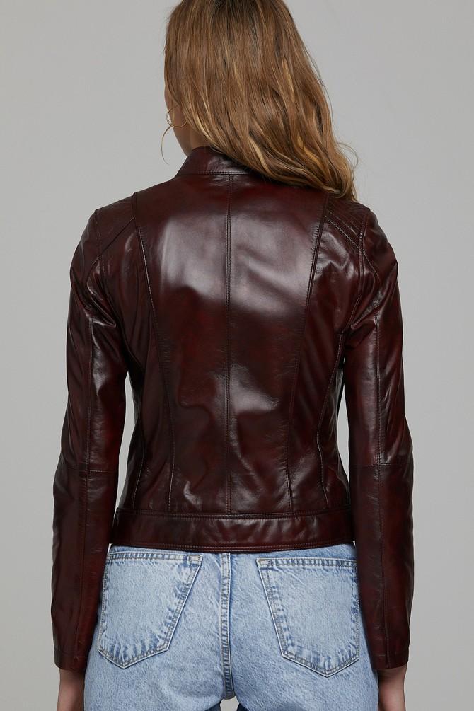 5638238083 Kylie-X Kadın Deri Ceket