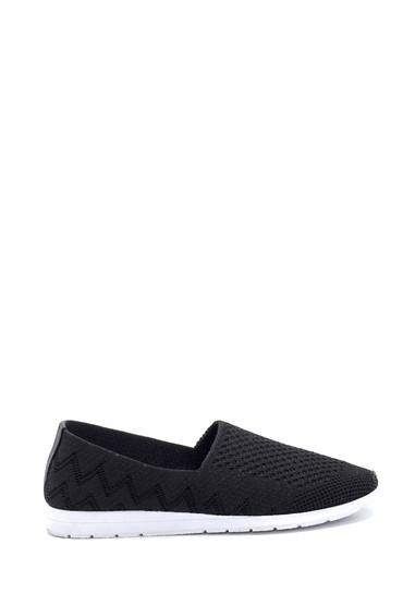 Siyah Kadın Çorap Ayakkabı 5638277178