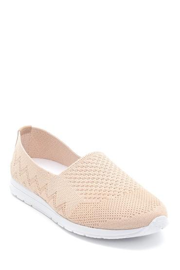 Bej Kadın Çorap Ayakkabı 5638304368