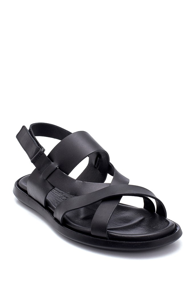 5638254901 Erkek Deri Sandalet