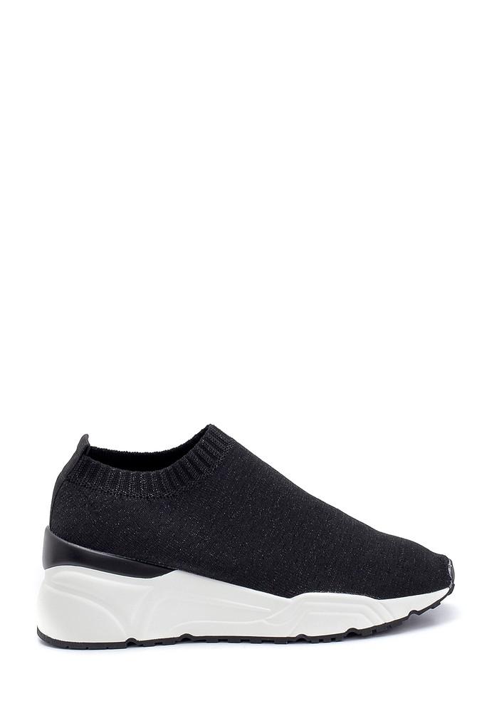 Siyah Kadın Çorap Sneaker 5638256057