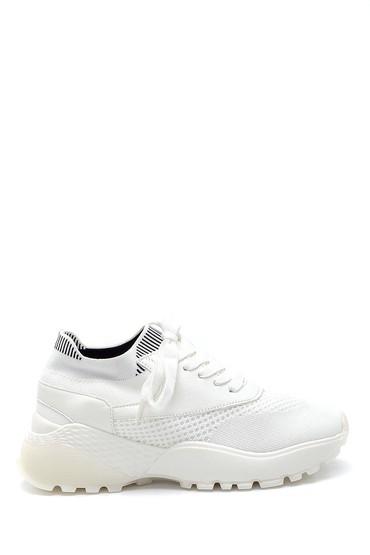 Beyaz Kadın Çorap Sneaker 5638256089