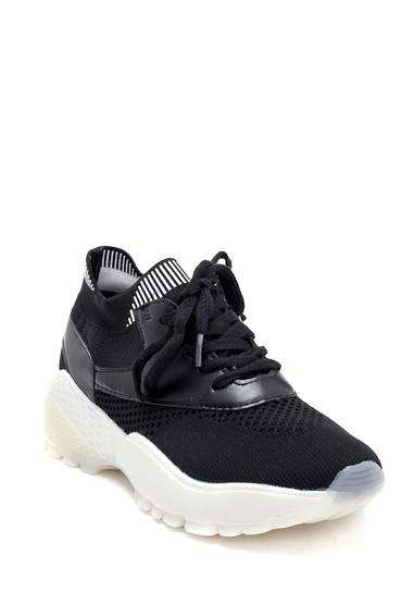Siyah Kadın Çorap Sneaker 5638256084