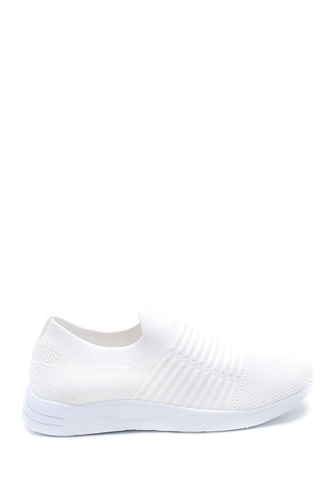 Beyaz Kadın Çorap Ayakkabı 5638255982