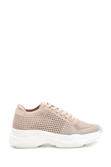 Bej Kadın Çorap Sneaker 5638256027