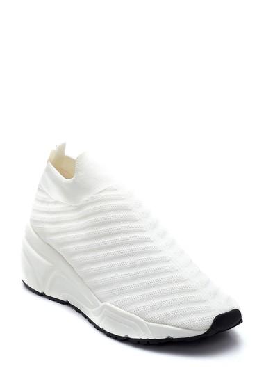 Beyaz Kadın Çorap Sneaker 5638256066
