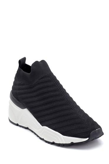 Siyah Kadın Çorap Sneaker 5638256065