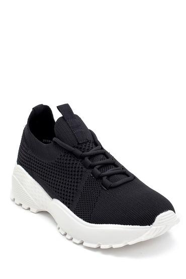 Siyah Kadın Çorap Sneaker 5638257614