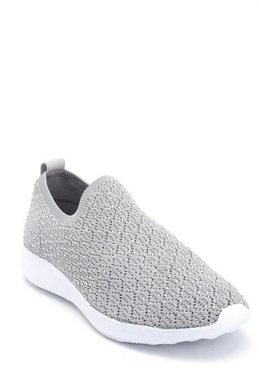 Gri Kadın Çorap Sneaker 5638266451