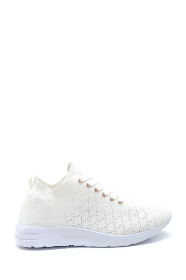 Beyaz Kadın Çorap Sneaker 5638266509