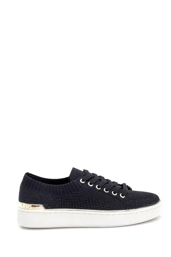 Siyah Kadın Çorap Sneaker 5638266594