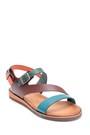 5638283880 Kadın Deri Toka Detaylı Sandalet