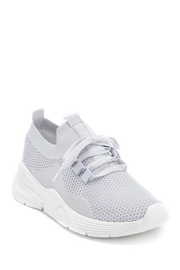 Gri Kadın Çorap Sneaker 5638280577