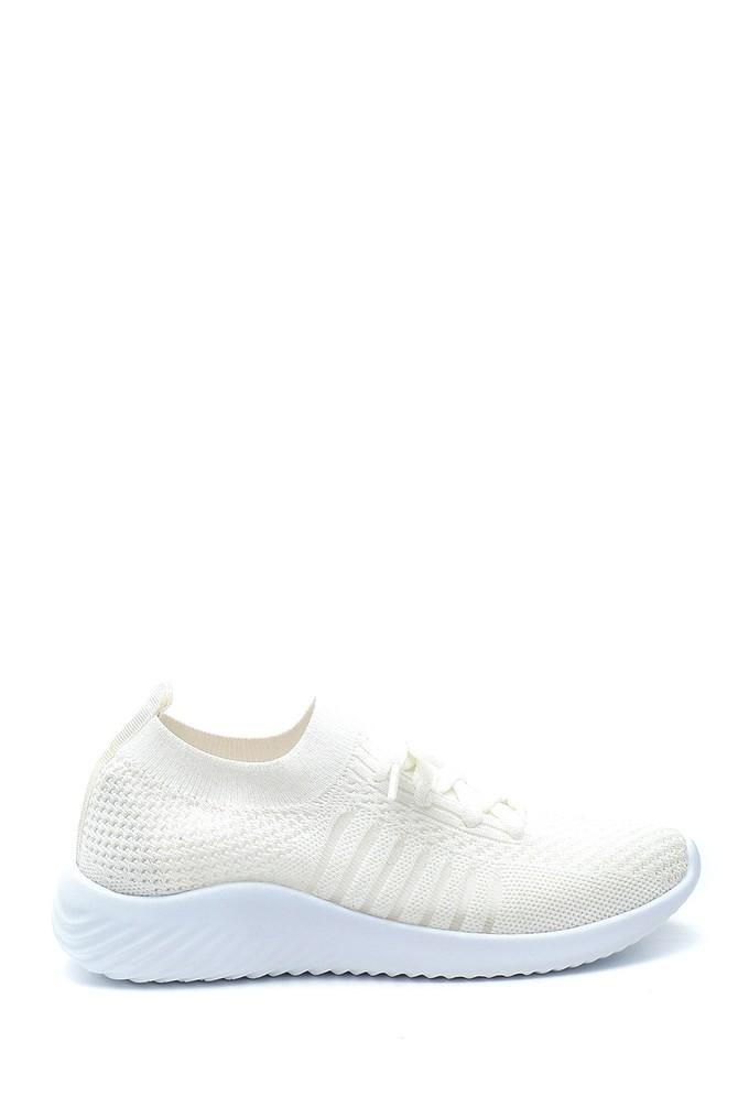 Beyaz Kadın Çorap Sneaker 5638280597