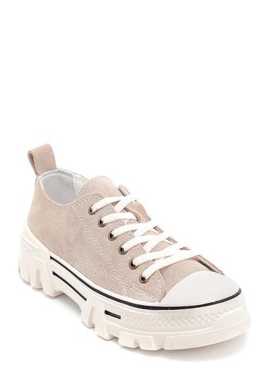 Vizon Kadın Süet Sneaker 5638292286