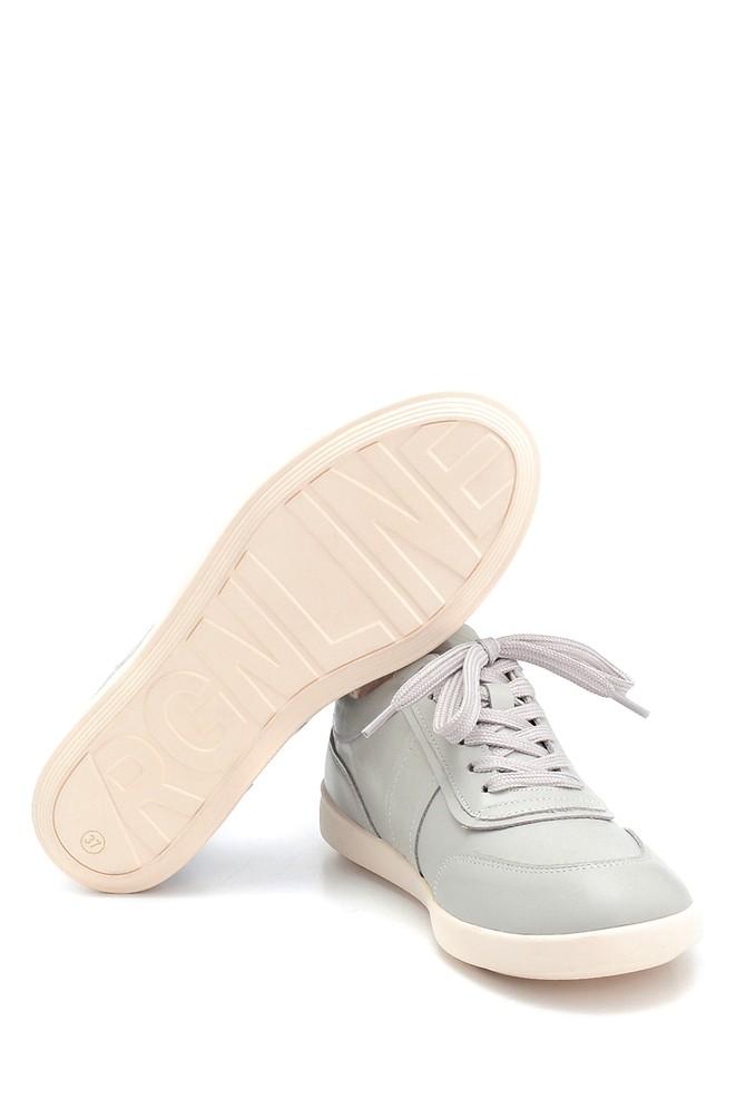5638291823 Kadın Deri Sneaker