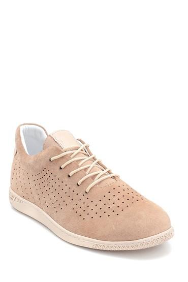 Vizon Kadın Süet Sneaker 5638284598