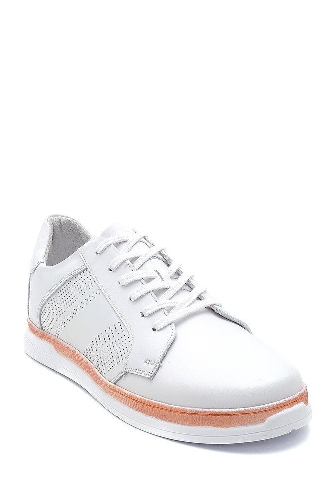 5638254686 Erkek Deri Sneaker