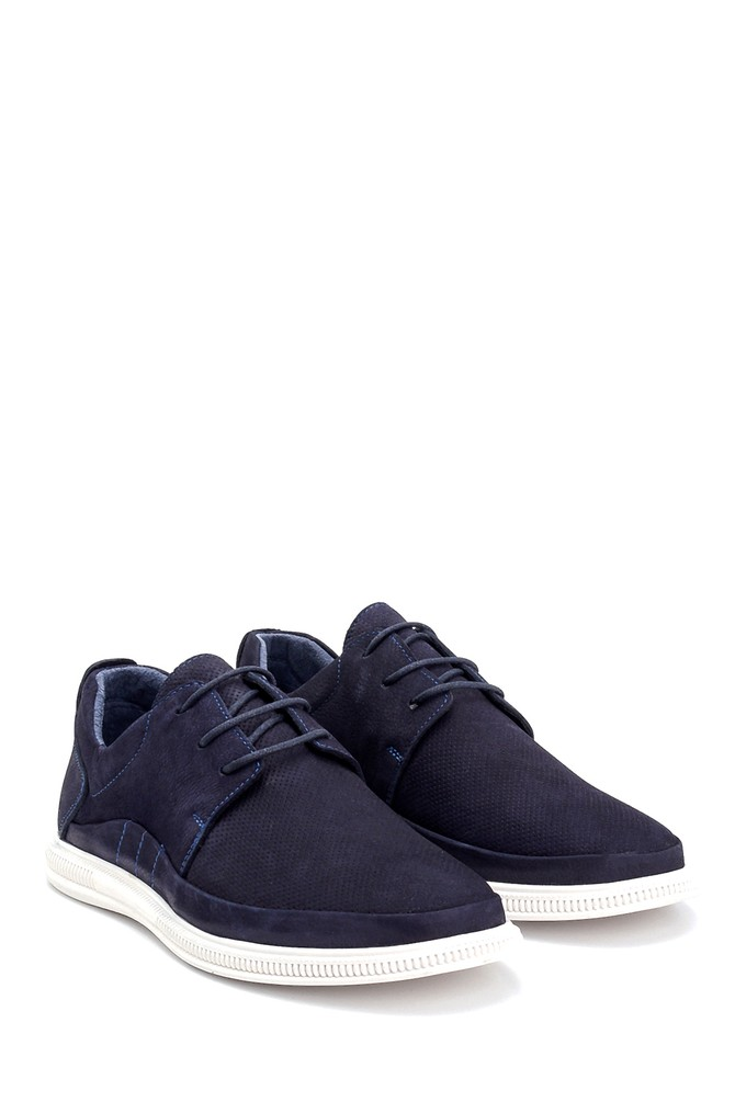 5638254719 Erkek Nubuk Sneaker