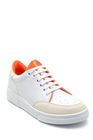 Beyaz Kadın Renk Detaylı Sneaker 5638277385