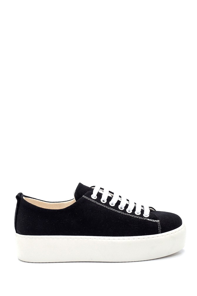 Siyah Kadın Sneaker 5638277404
