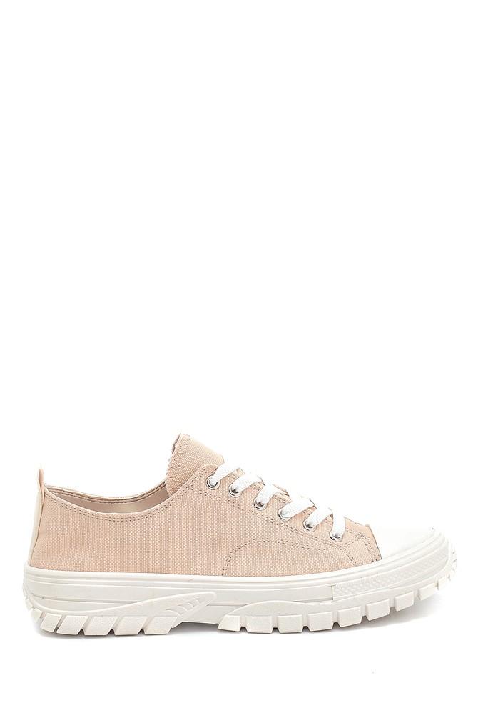 Bej Kadın Sneaker 5638277423