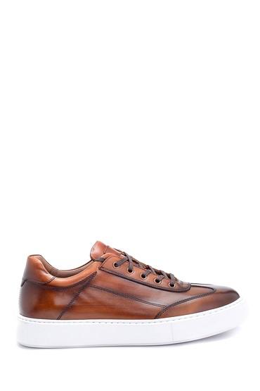 Taba Erkek Deri Sneaker 5638286106