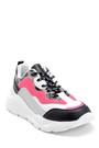 5638301234 Kadın Kumaş Detaylı Sneaker