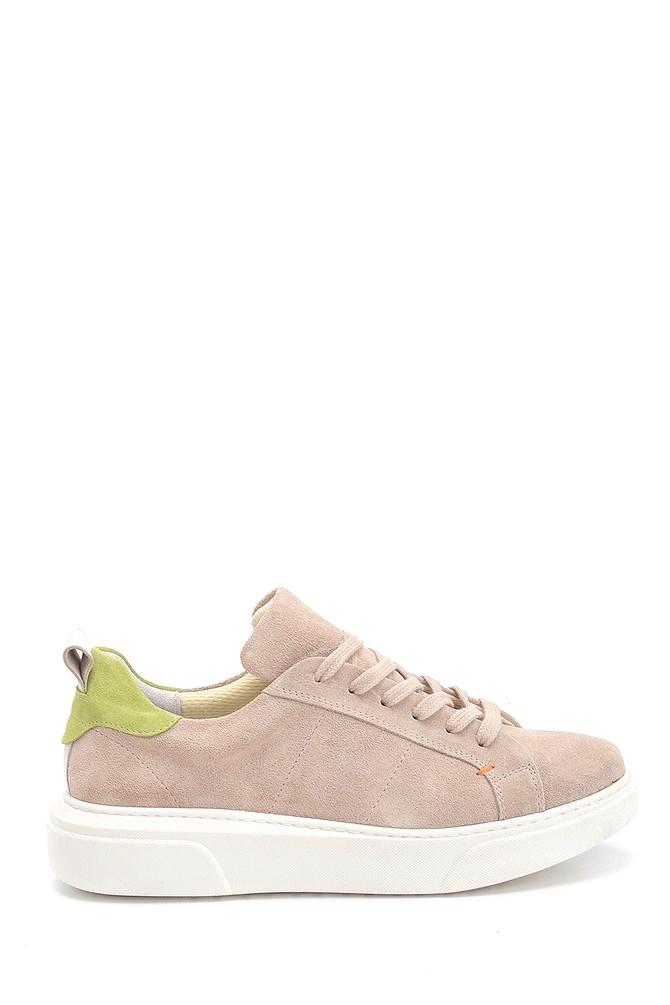 Bej Kadın Süet Sneaker 5638306052