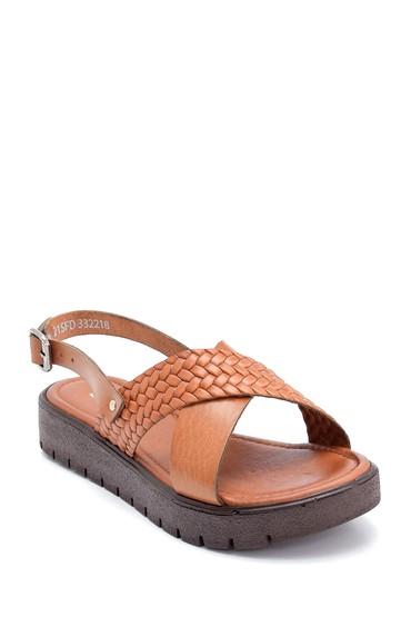 Taba Kadın Deri Sandalet 5638255611