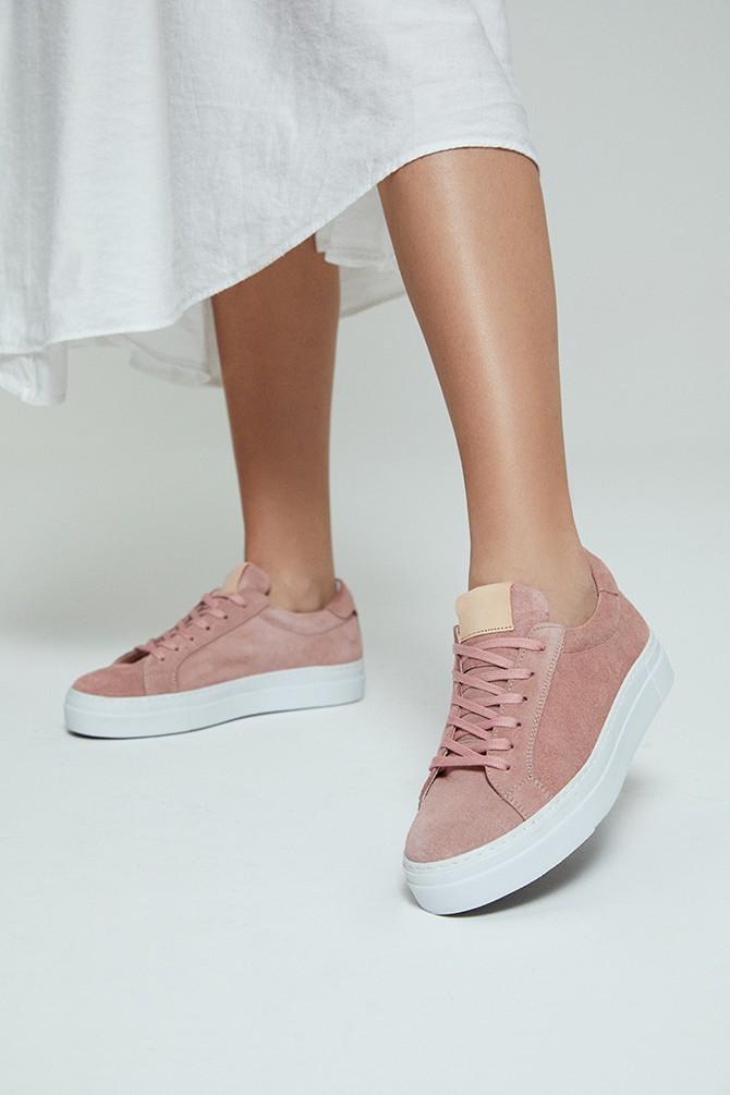 Pembe Kadın Süet Sneaker 5638272922