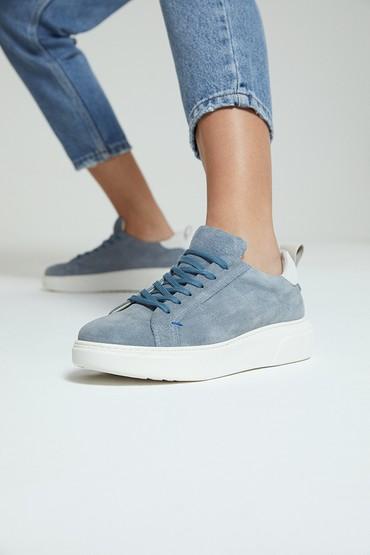 Mavi Kadın Süet Sneaker 5638273048