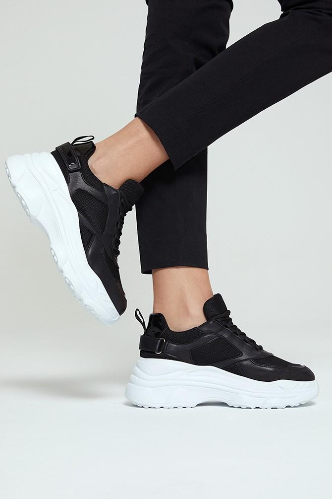 Siyah Kadın Sneaker 5638273580
