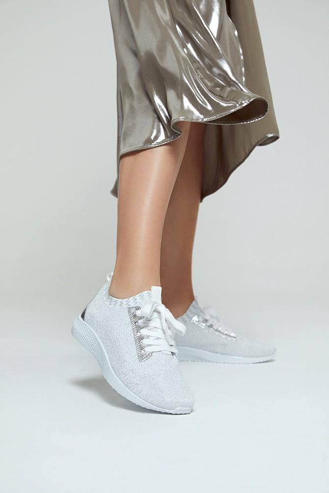 Beyaz Kadın Sneaker 5638280379