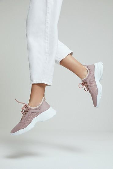 Kırmızı Kadın Çorap Sneaker 5638291636
