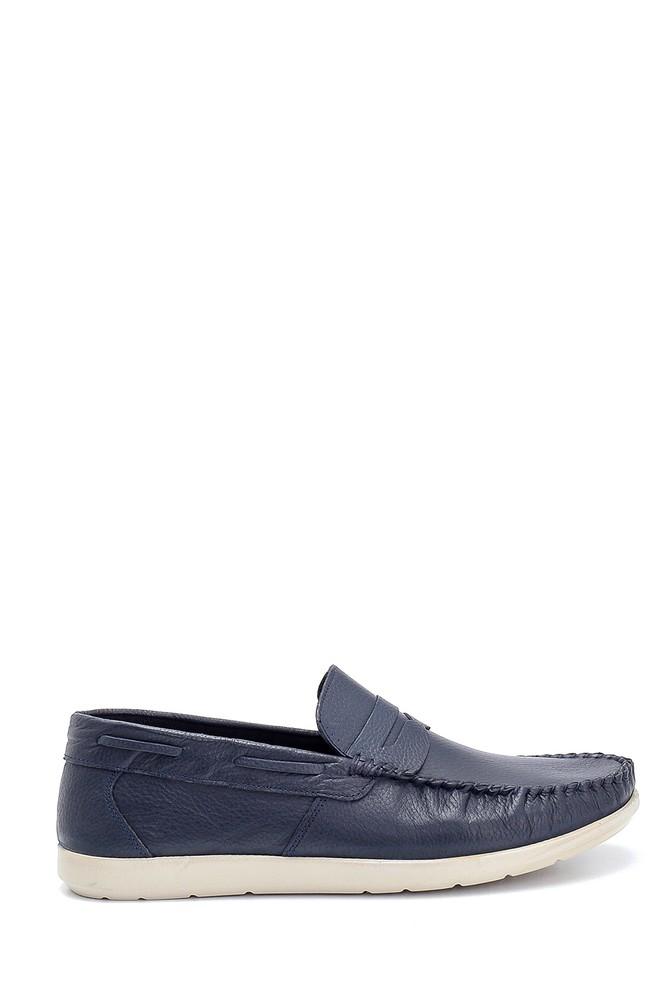 Lacivert Erkek Deri Loafer 5638252528