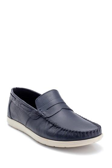 Lacivert Erkek Deri Loafer 5638252508