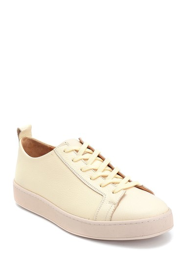 Bej Erkek Deri Sneaker 5638257875