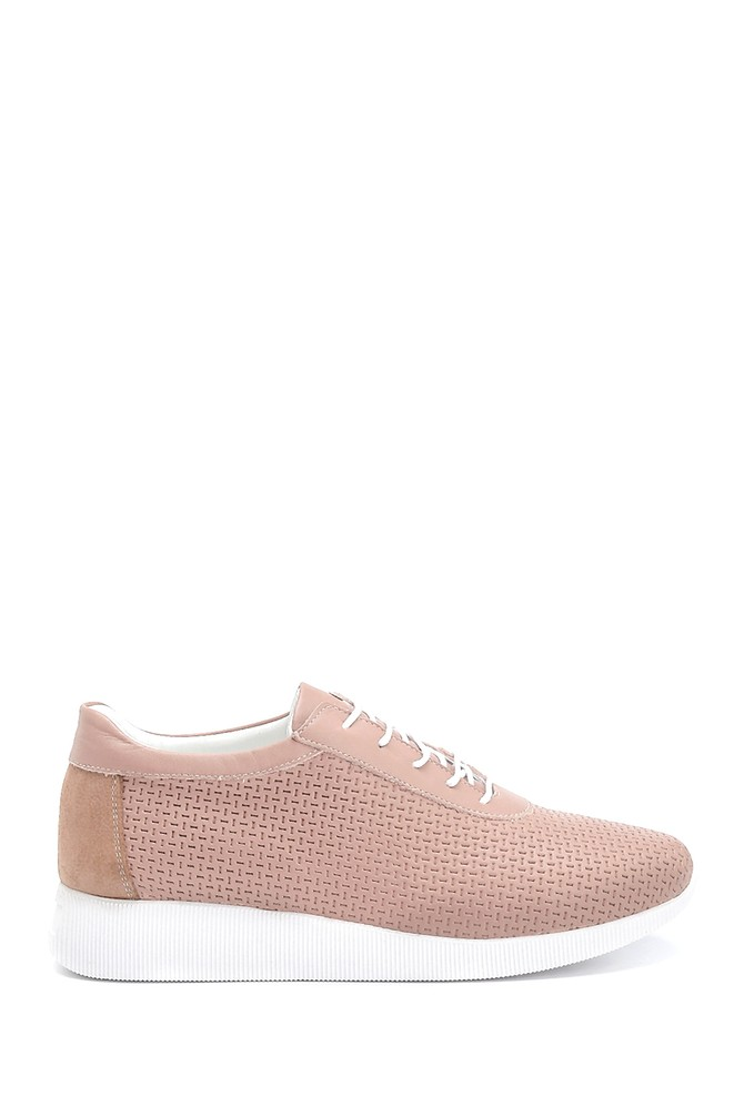 Pudra Kadın Deri Sneaker 5638265636