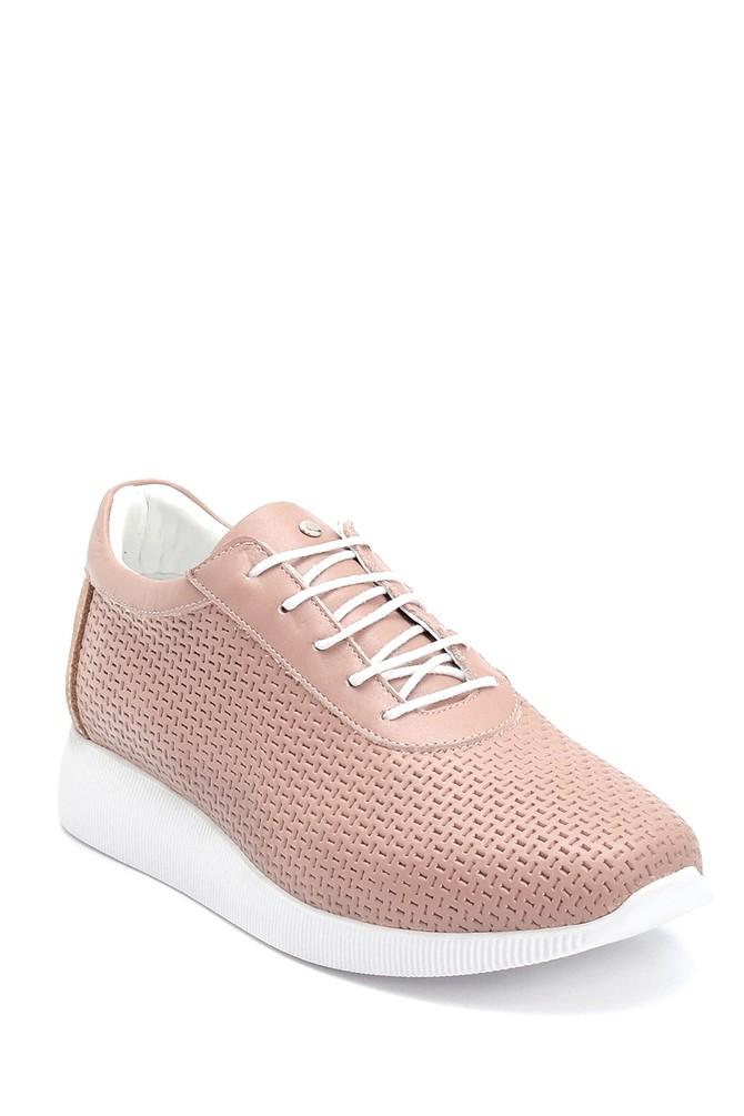 5638265636 Kadın Deri Sneaker