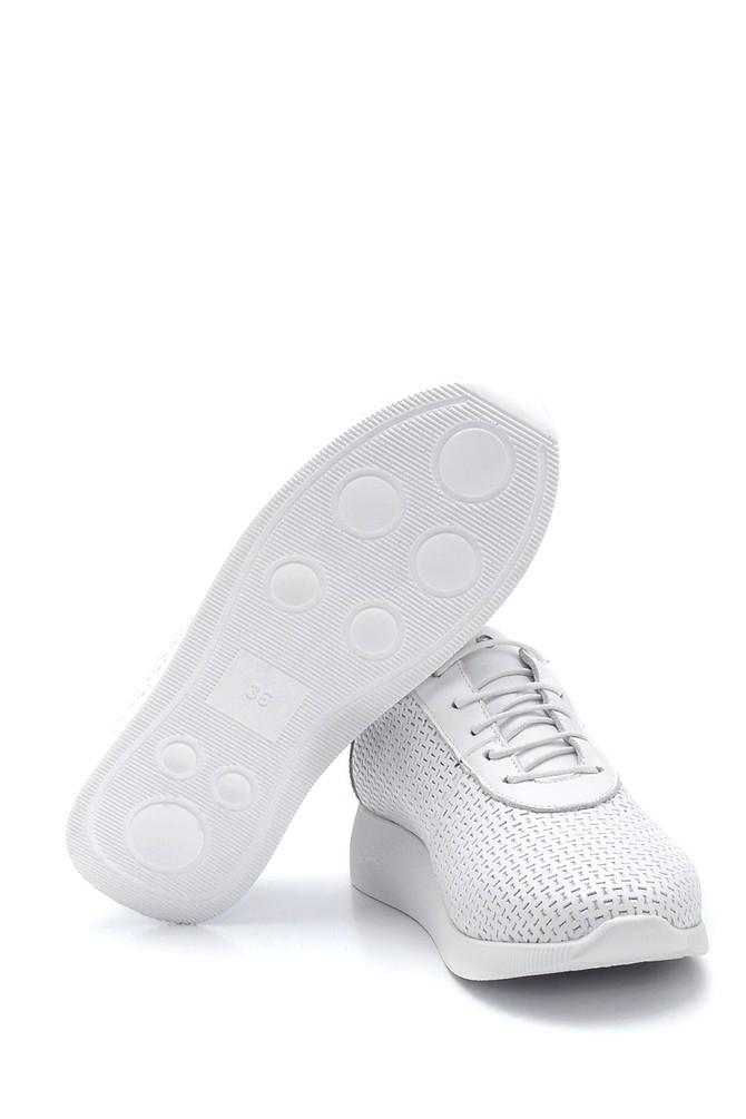 5638265637 Kadın Deri Sneaker