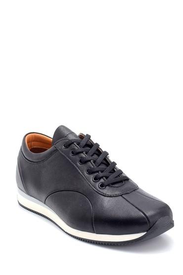 Siyah Erkek Deri Casual Ayakkabı 5638273443